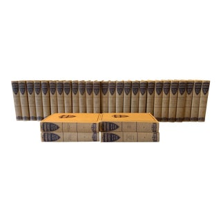 1930s Vintage Harvard Classics Books- Set of 30 For Sale