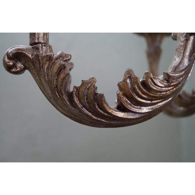 Italian Florentine Carved Gilt Rococo Chandelier - Image 9 of 10