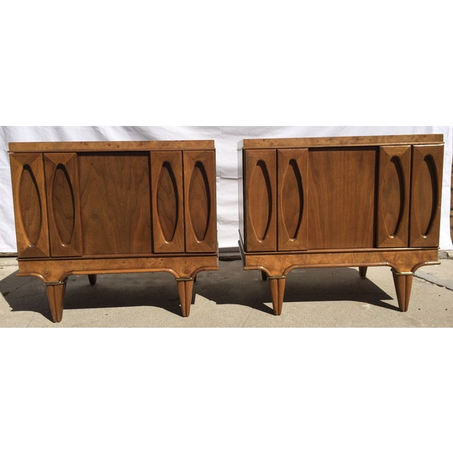 American Martinsville Mid-Century Side Tables Pair - Image 2 of 11