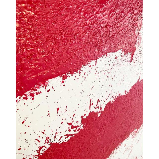 Abstract John O'Hara, Tar, T3, Encaustic Painting For Sale - Image 3 of 11