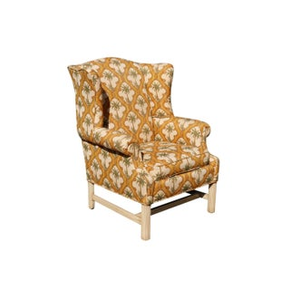 Palm Tree Wingback Chairs - a Pair Preview