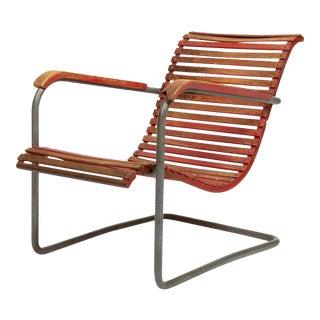 Armchair Werner Max Moser Gartenstuhl Mod.25 For Sale