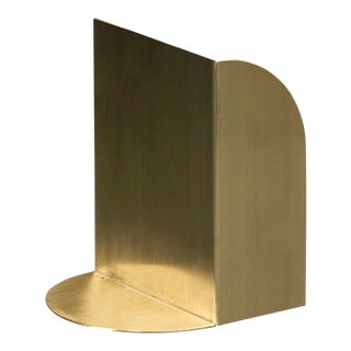 Tortuga Trifold Brass Limited Edition Bookend For Sale