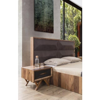 Mario Grande Upholstered Wood Bed King Preview
