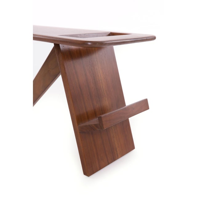 1960s Solid Walnut Magazine Holder For Sale In Phoenix - Image 6 of 7