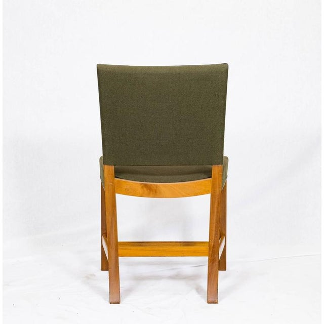Fabric Set of Ten Kaare Klint Dining Chairs For Sale - Image 7 of 10