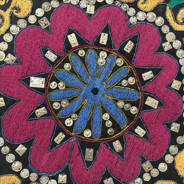 Ethnic Wall Medallion Tapestry - Image 4 of 8