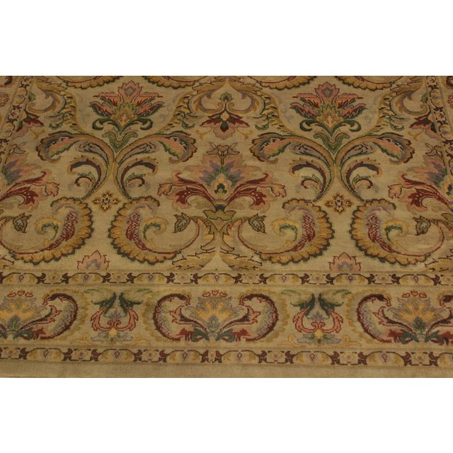 Textile Pak-Persian Deandra Gray/Gray Wool Rug - 4'0 X 6'0 For Sale - Image 7 of 8