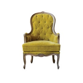 Image of Shabby Chic Bergere Chairs