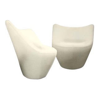 Pierre Paulin for Ligne Roset Anda Swivel Armchairs - A Pair