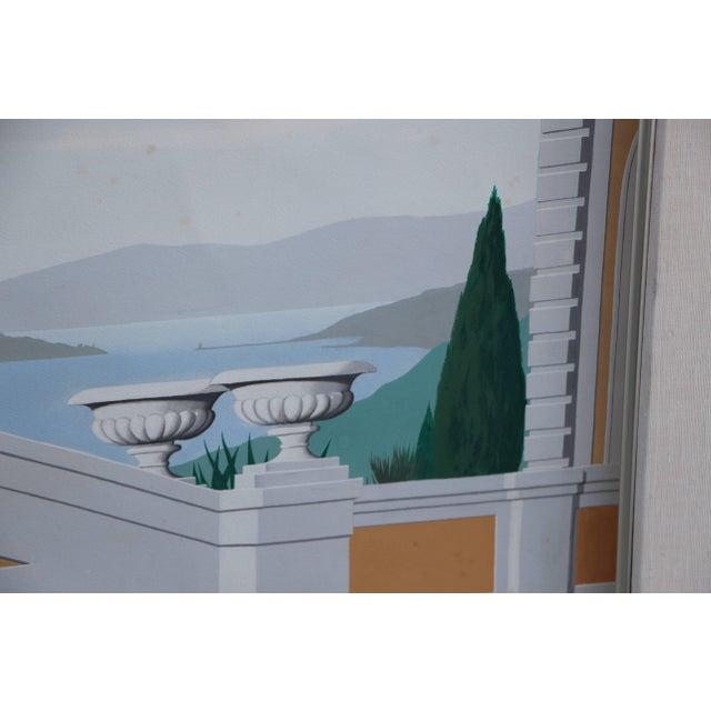 J. Møbius Signed Large Illustration on Paper For Sale In Palm Springs - Image 6 of 13