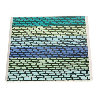 "Contemporary ""Kashmir"" Tile by Dorothy Liebes For Sale"