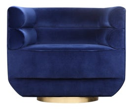Image of Brass Accent Chairs