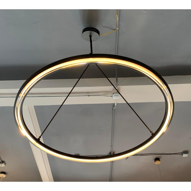Classic craftsmanship meets modern innovation in this lighting collection from industrial blacksmith Jon Sarriugarte....