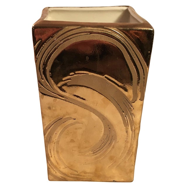Weeping Gold Vase - Image 1 of 8
