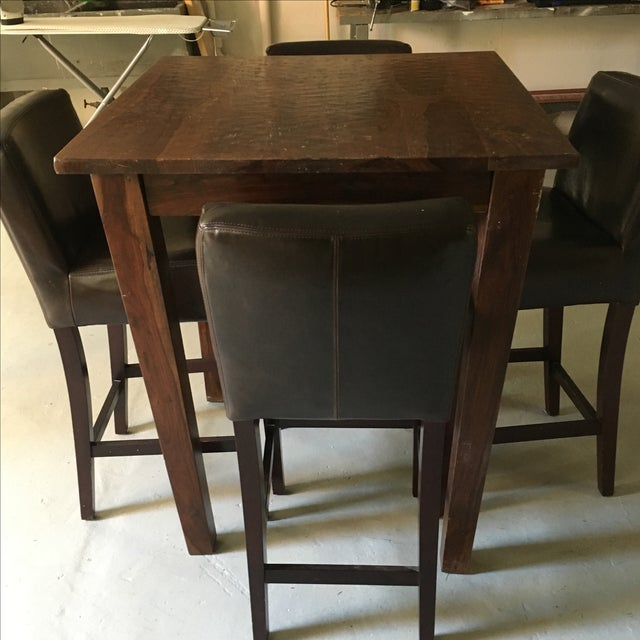 Provence Pub Table With Henry Pub Stools - Image 4 of 5