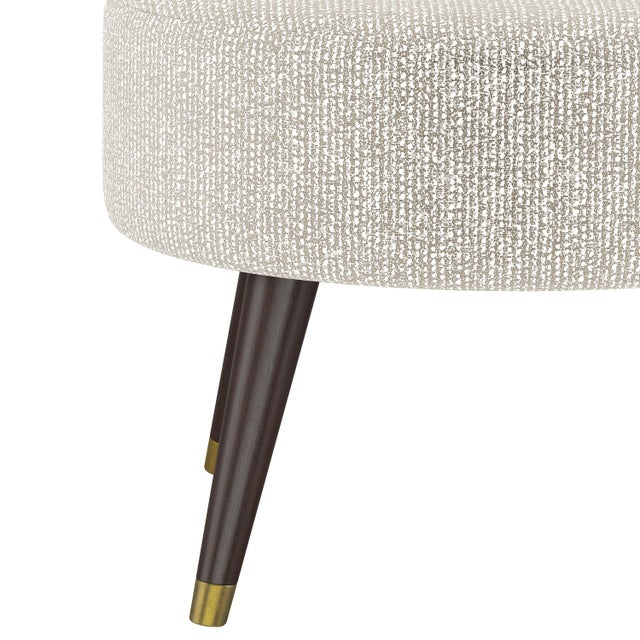 A wealth of stylish upholstery options give the handcrafted Andrews Ottoman the ability to blend right into your décor,...