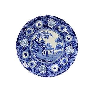 1830s Roger's Zebra Staffordshire Plate For Sale
