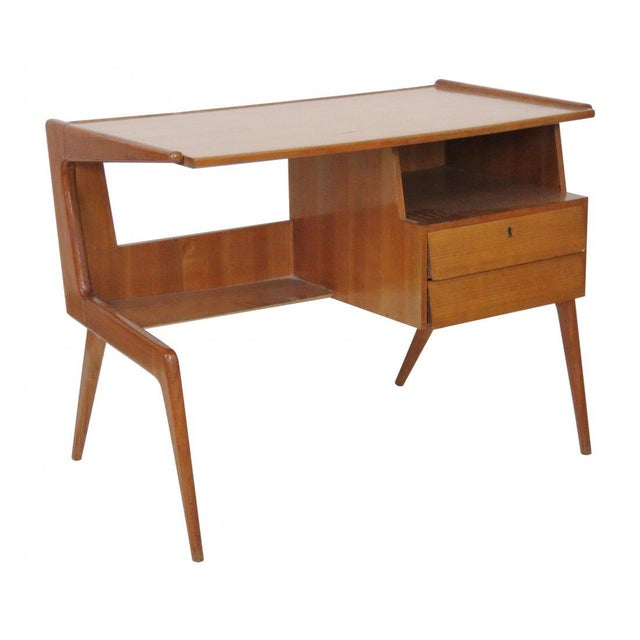1950's Italian Desk in the Manner of Ponti - Image 1 of 4