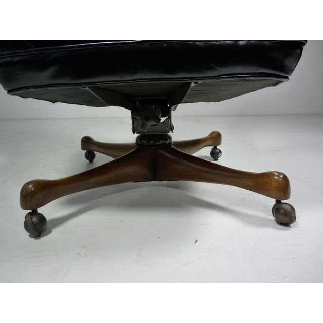 1960s Rare Vladimir Kagan Desk Chair For Sale - Image 5 of 5