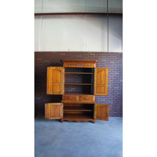 20th Century French Country Armoire For Sale - Image 9 of 11