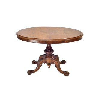 English Victorian Loo Table