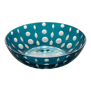 Perla Trinket Bowl II, Peacock For Sale