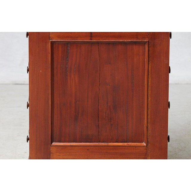 Brown 20th Century Walnut Piano Top Davenport Desk For Sale - Image 8 of 13