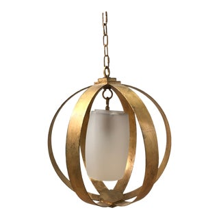 Visual Comfort Pendant Light For Sale