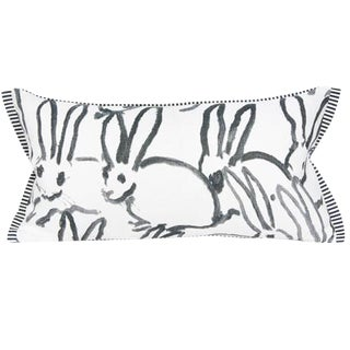 Lee Jofa Bunny Lumbar Pillow Cover For Sale