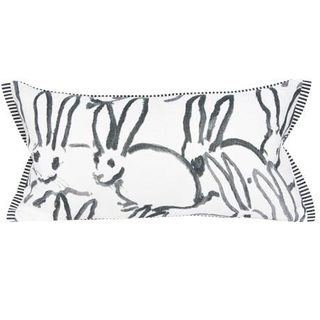 Lee Jofa Bunny Lumbar Pillow Cover For Sale