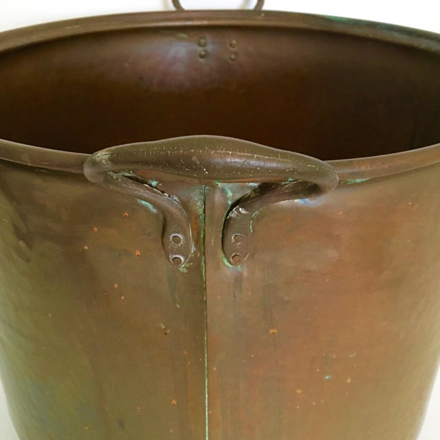 Vintage Rustic Copper Pot - Image 6 of 7