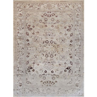 """Mansour Quality Handwoven Agra Rug - 6' X 8'4"""" For Sale"""