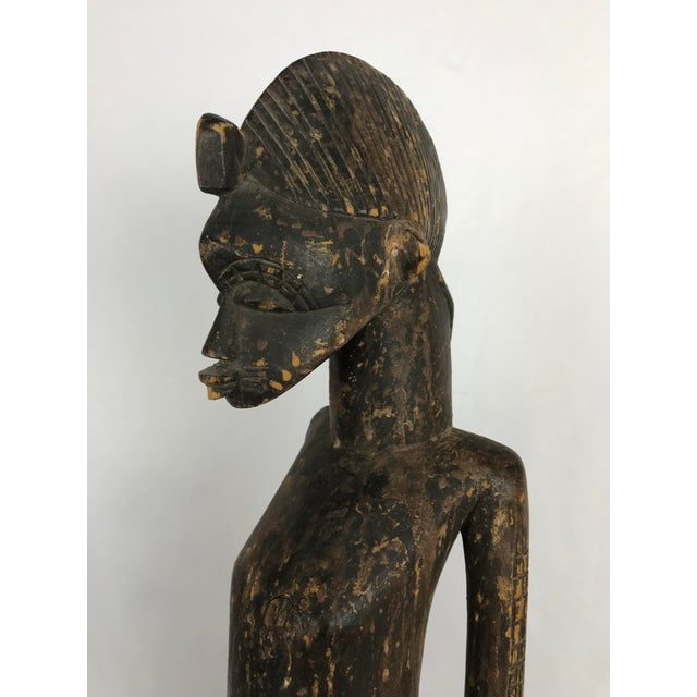20th Century African Senufo or Ivory Coast Fertility Sculpture For Sale In Portland, OR - Image 6 of 10