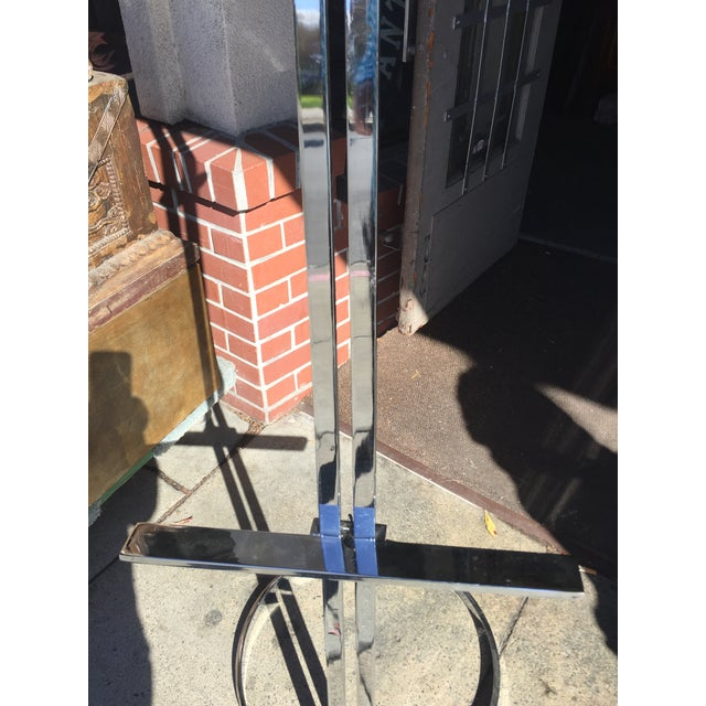 Milo Baughman Style Chrome Easel Adjustable For Sale In San Francisco - Image 6 of 10