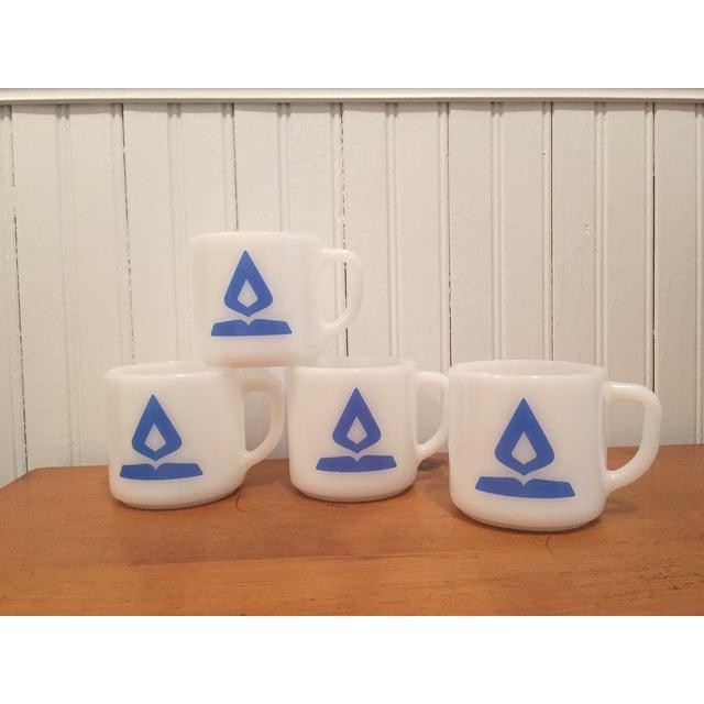 Vintage Fire King Milk Glass Mugs - Set of 4 - Image 2 of 6
