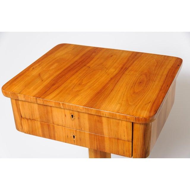 Biedermeier Biedermeier sewing table For Sale - Image 3 of 11