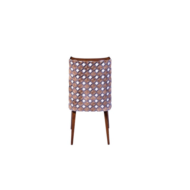 Set of Six Mid-Century Modernist Dining Chairs For Sale In Miami - Image 6 of 11