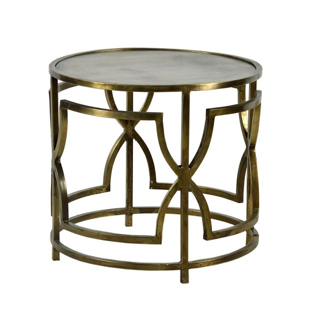 Brass Side Table - Image 2 of 2