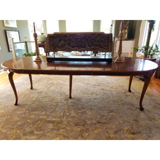 Teak Queen Anne Expandable Dining Set Preview