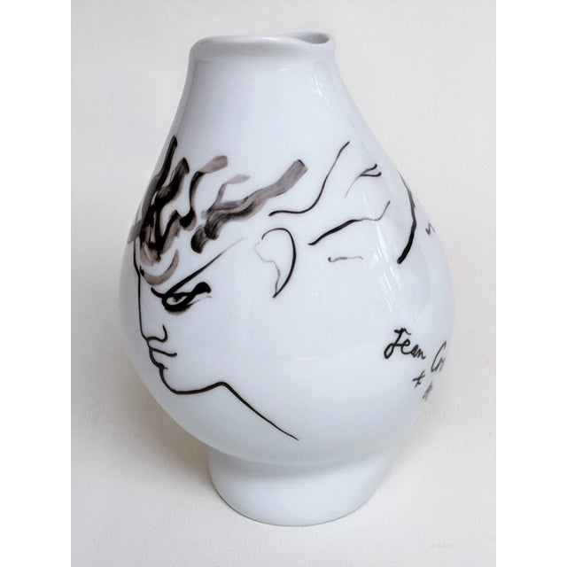 Ceramic Jean Cocteau for Classic Rose Rosenthal Group Vase For Sale - Image 7 of 11