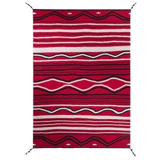 "Navajo Cashmere Blanket, 51"" x 71"" For Sale"