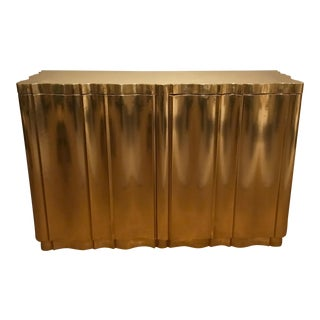 Brass Foil Serpentine Cabinet Prototype