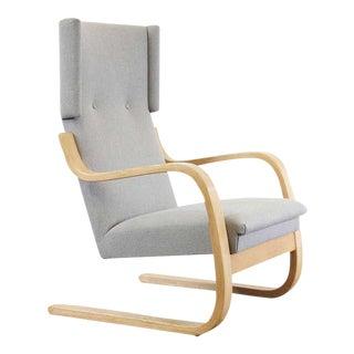 Alvar Aalto for Artek Wingback Lounge Chair, Circa 1950