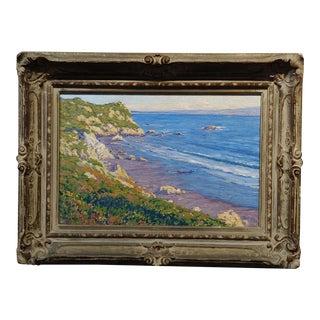 "Gary Ray ""California Coastline"" Oil Painting For Sale"