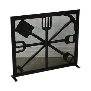 Tremendous Vintage Used Fireplace Screens Fenders For Sale Chairish Download Free Architecture Designs Ferenbritishbridgeorg