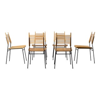 Mid-Century Modern Paul McCobb Shovel Dining Chairs - Set of 6 For Sale