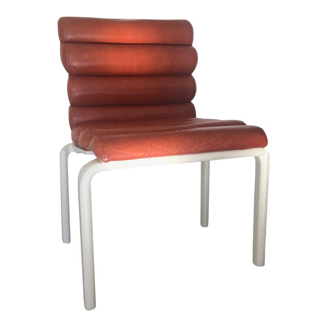 1960s Italian Leather Chairs - *Revised Set of Four* For Sale