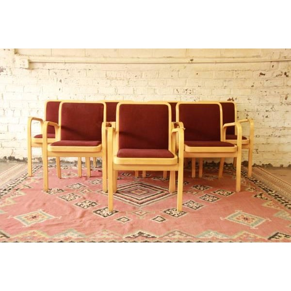 Danish Modern Armchairs by ICF Finland - Set of 8 - Image 3 of 9