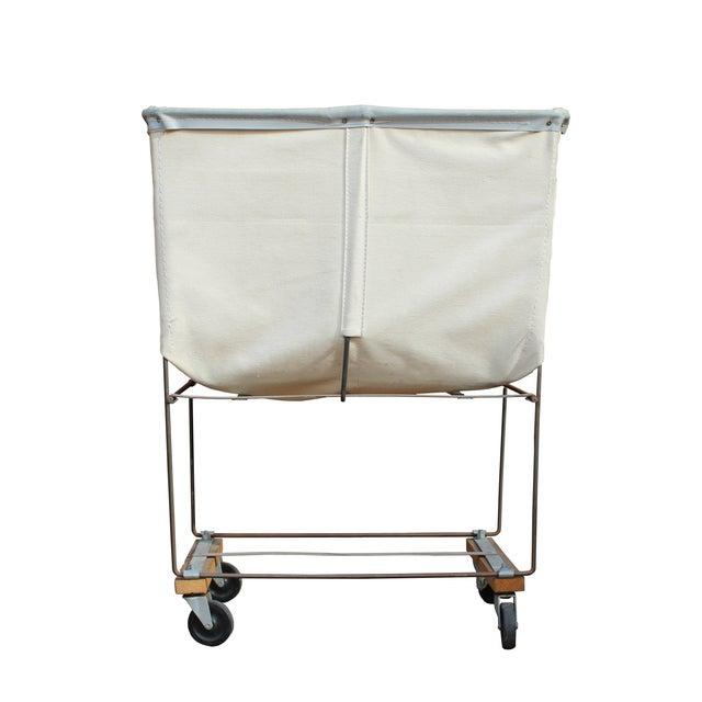Vintage Dandux Industrial Laundry Cart - Image 2 of 2